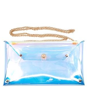 Transparent clutch